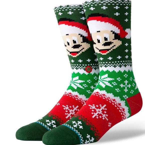 Stance Other - Stance Mickey Claus Crew Height Sock